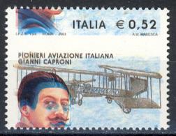 Varieta' Centenario Del Primo Volo - Gianni Caproni. MNH** (vedi Descrizione) - Varietà E Curiosità