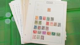 LOT N° E 302 PAYS BAS Collection Sur Page D'albums Neufs * Ou Obl. - Stamps