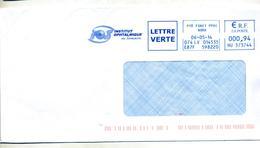 Lettre Flamme Ema Petite Foret Institut Ophtalmique Theme Oeil - EMA (Printer Machine)