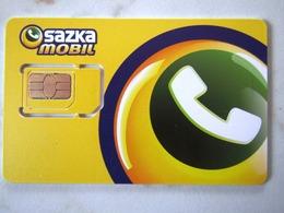 SIM    GSM    SAZKA MOBIL  TOP MINT - Tchéquie