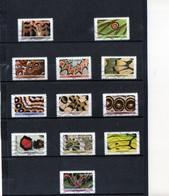 12 Timbres  Adhésifs (pri..)   Oblitérés(2020) ( Effets Papillons ) - France