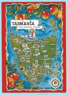 0995 - TASMANIA - MAP - Cartes Géographiques