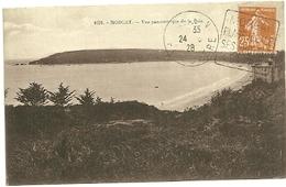 FINISTERE - Dépt N° 29 = CROZON 1928 = FLAMME DAGUIN ' Grottes - Plage IDEALE - Pins' - Marcophilie (Lettres)