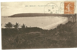 FINISTERE - Dépt N° 29 = CROZON 1928 = FLAMME DAGUIN ' Grottes - Plage IDEALE - Pins' - Postmark Collection (Covers)