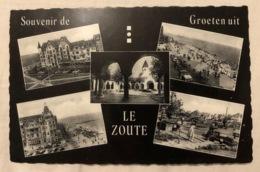 3 PK. Souvenir De-Groeten Uit Knokke Albert Plage. En Le Zoute - Knokke