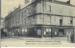 CPA 072 - Mayenne - Comptoir National D'Escompte De Paris - Agence De Laval - 2 Rue De La Pais Et 1 Quai Sadi Carnot - Laval