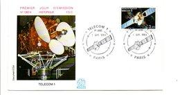 FDC 1984 SATELLITE TELECOM1 - FDC