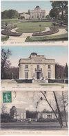 75. PARIS. Bois De Boulogne. Château De Bagatelle. 3 Cartes - Parcs, Jardins
