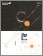 SAO TOME 2019 MNH Albert Einstein Eclipse Sonnenfinsternis S/S - OFFICIAL ISSUE - DH2008 - Albert Einstein