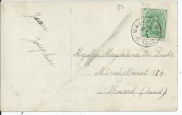 Fantasiekaart Met OCB 137 - Afstempeling WAELHEM Relais - 1915-1920 Albert I