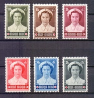912/917 RODE KRUIS   POSTFRIS** 1953 - Belgique