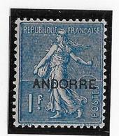 Andorre N°18 - Neuf * Avec Charnière - TB - Neufs