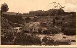BUGEAT LE PONT DES ROCHERS - France