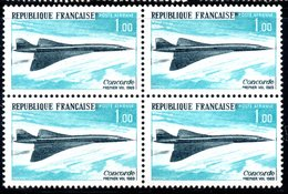POSTE AERIENNE - BLOC DE 4 YT N°43 - ANNEE 1969 - NEUF ** - - 1960-.... Ungebraucht