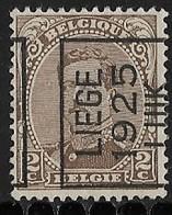 Luik 1925 Typo Nr. 113A - Préoblitérés