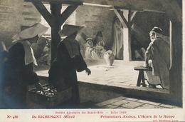 Prisonniers Arabes Heure De La Soupe Apportée Par Des Bonnes Soeur Par Alfred De Richemond - Prison