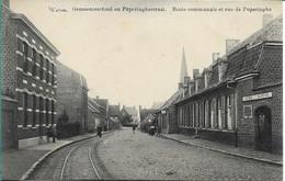 Watou Gemeenteschool En Poperingestraat - Belgio
