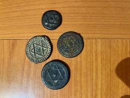 FALLUS -MAROC - Lot De 4 Pieces  ( 1286-1288 Et à Identifier )  Port Offert - Morocco