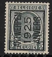Antwerpen 1925 Typo Nr. 121A - Préoblitérés