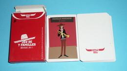 Rare Jeu De Cartes Des 7 Familles NEUF, Mexique Jeu 1, Pub Buffalo Grill - Group Games, Parlour Games