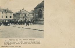 Greve Des Boutonniers à Meru Oise 18/4/1909  Cuirassiers Juge Magnin General Nicolas - Grèves