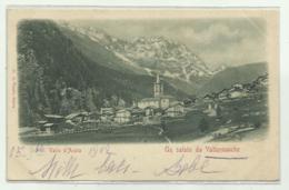 UN SALUTO DA VALTURNANCHE 1902 VIAGGIATA FP - Other Cities