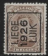 Luik 1926 Typo Nr. 132A - Préoblitérés
