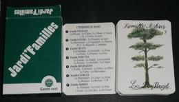 Rare Jeu De Cartes Des 7 Familles, JARDI' Familles, Pub Gamm Vert, Arbres Fruits Fleurs Insectes, Jeux, Carte Jardin - Autres