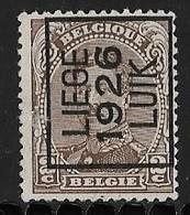 Luik 1926 Typo Nr. 132AIII - Préoblitérés