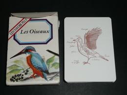 Rare Jeu De Cartes 7 Familles, Les Oiseaux, Les Savoirs Plus - Group Games, Parlour Games