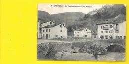 ALDUDES Le Pont Et Le Bureau De Tabacs (Erréca) Pyrénées Atlantiques (64) - Aldudes
