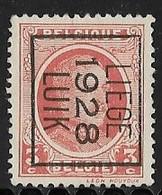 Luik 1928 Typo Nr. 170B - Préoblitérés