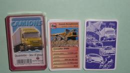 Rare Jeu De Cartes, Familles, Quartettes, Atouts D'atout, Camions Poids Lourds Internationnaux, Poid Lourd Truck Trucks - Jeux De Société