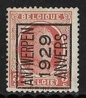 Antwerpen 1929 Typo Nr. 183A - Préoblitérés