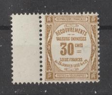 Taxe N° 46 NEUF** - 1859-1955 Postfris