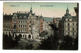 CPA-Carte Postale-Germany- Plauen- Obere Bahnhofftrasse -1909-VM13645 - Chemnitz