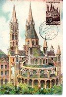Eglise : Carte Maximum Barre Dayez 2025 Cathédrale De Caen - Churches & Cathedrals