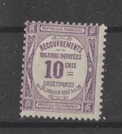 Taxe N° 44 NEUF** - 1859-1955 Mint/hinged