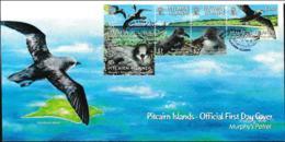 Pitcairn Islands FDC 2004 Murphys Petrel Birds (LB12F) - Uccelli