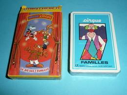 Rare Jeu De Des 7 Sept Familles NEUF, NESTLE Circus, Cirque - Autres