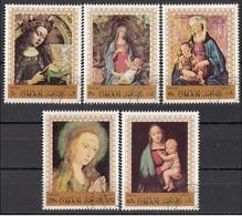 Oman 1970 Natale Christmas Madonna Col Bambino Quadro Dipinto Paintings - Oman