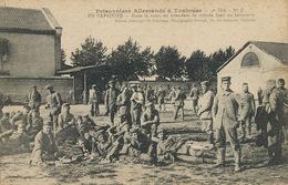 German Prisoners WWI In Toulouse - Prison