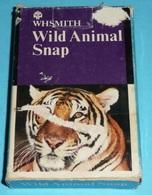 Rare Ancien Jeu Des Familles Wild Animal Snap, Animaux Tigre - Jeux De Société