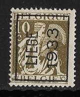 Luik  1933 Typo Nr.  268A - Typo Precancels 1932-36 (Ceres And Mercurius)
