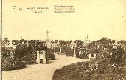 CPA - Belgique - Heuvelland - Mont Kemmel - Cimetière Belge - Heuvelland