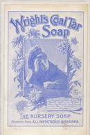 Pub Wright's Col Tar Soap Infectious Diseases . Savons Contre Les Maladies Infectieuses . Micribes . Virus - Salud