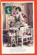 FRI026 ENVOI DE CARTES Paresseux-Promotion Utilisation CARTES POSTALES 1910 à Charles BAS Bobigny- LYS 2010 - Women