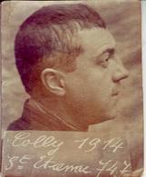 - Photographie Ancienne - Photo D'un Homme - Léon Colly. St Etienne 1914 - - Personnes Identifiées