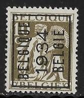 België 1934 Nr. 282A - Typo Precancels 1932-36 (Ceres And Mercurius)
