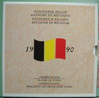 LaZooRo: Belgium FDC Set 1990 50 Centimes - 50 Francs 10 Coins Scarce - Uncirculated